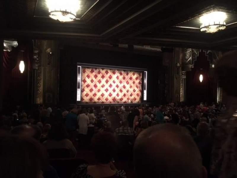 Pantages theater, vak: ORCHL, rij: TT, stoel: 3