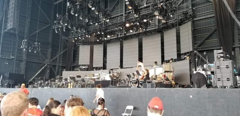 MidFlorida Credit Union Amphitheatre, vak: Orchestra 3, rij: N, stoel: 19