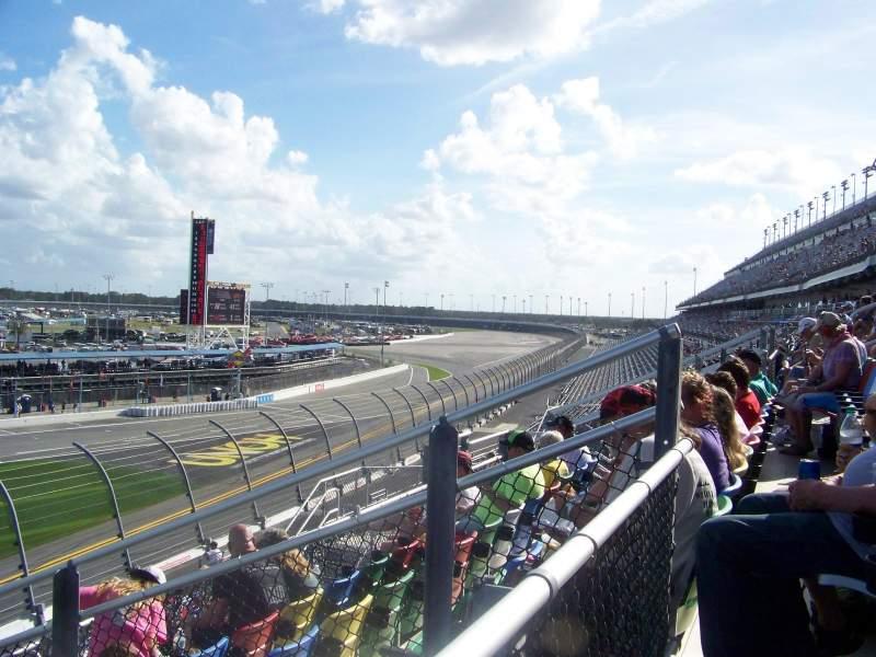 Uitzicht voor Daytona International Speedway Vak 157 Rij 29 Stoel 19