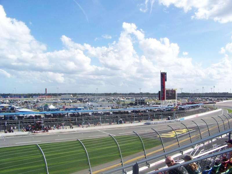 Daytona International Speedway, vak: 157, rij: 29, stoel: 19