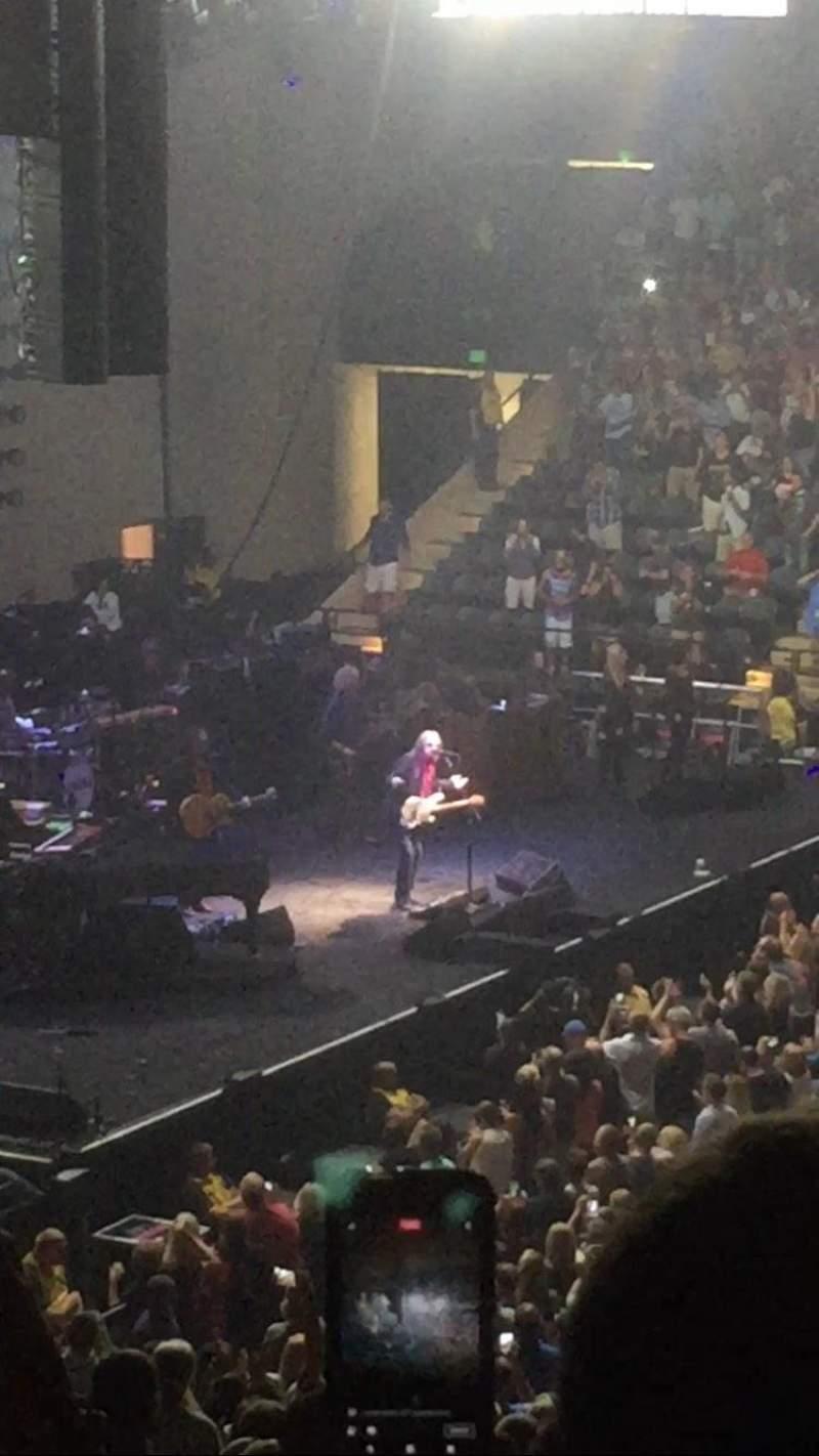 Royal Farms Arena, vak: 209, rij: N, stoel: 12