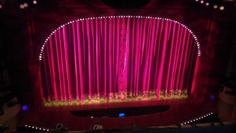 Shubert Theatre, vak: Balcony, rij: B, stoel: 112