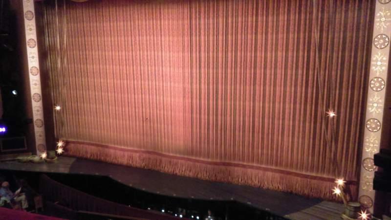 Imperial Theatre, vak: Front Mezzanine, rij: B, stoel: 12