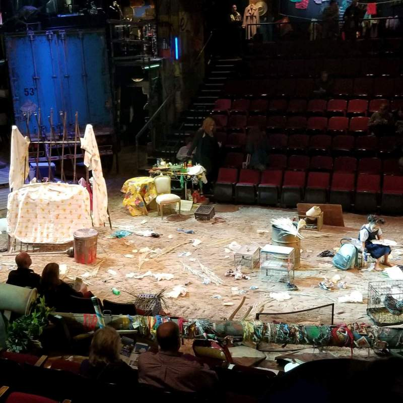 Circle in the Square Theatre, vak: Standing Room, stoel: 9