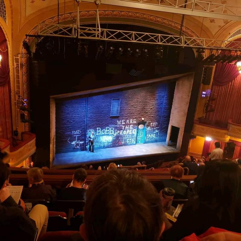 Uitzicht voor Bernard B. Jacobs Theatre Vak Mezz Rij J Stoel 17