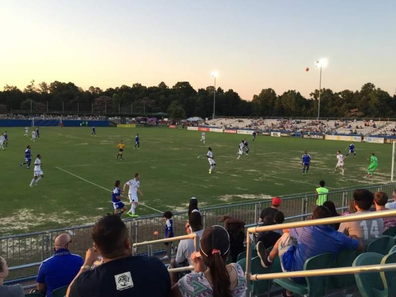 Ramblewood Soccer Complex, vak: 16, rij: 8, stoel: 4