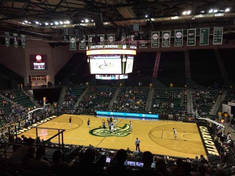 Dale F. Halton Arena, vak: 220, rij: K, stoel: 5