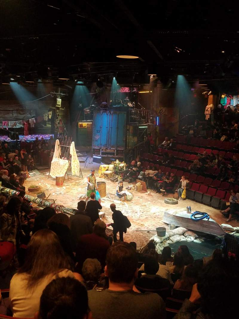 Circle in the Square Theatre, vak: Orchestra, rij: K, stoel: 133