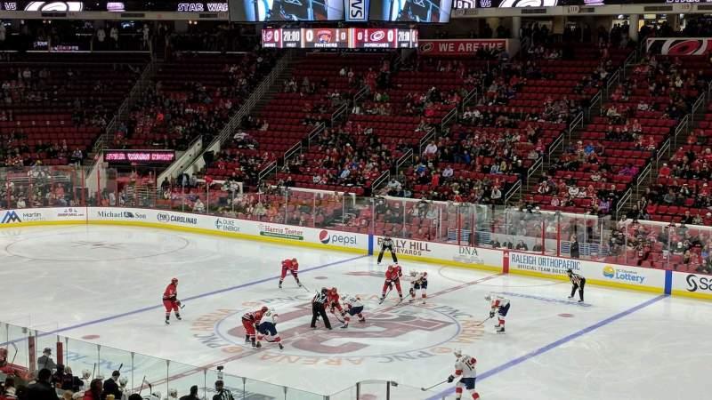 PNC Arena, vak: 101, rij: XX, stoel: 6