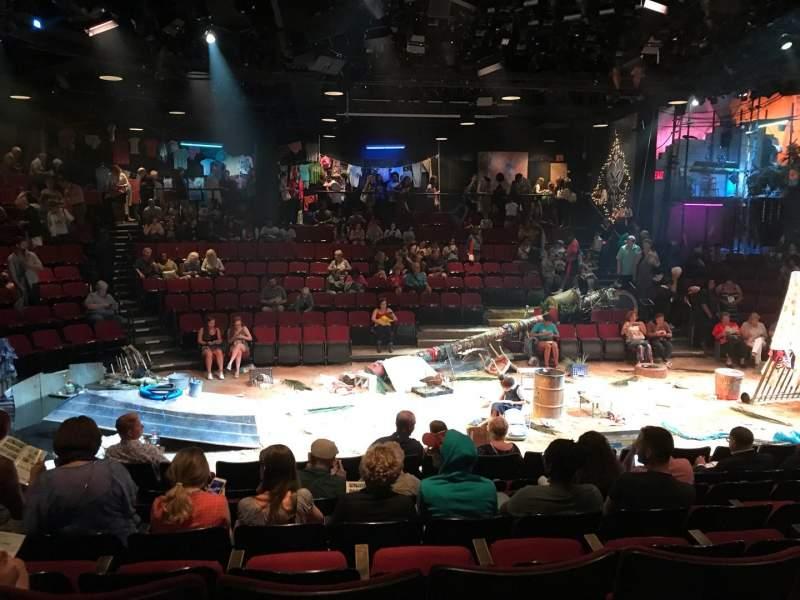 Circle in the Square Theatre, vak: ORCR, rij: G, stoel: 220
