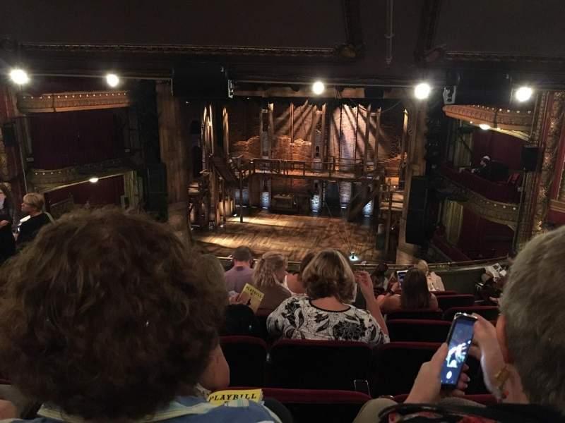 CIBC Theatre, vak: Balcony RC, rij: L, stoel: 418