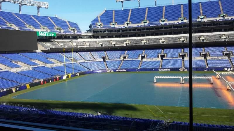 M&T Bank Stadium, vak: Press Box