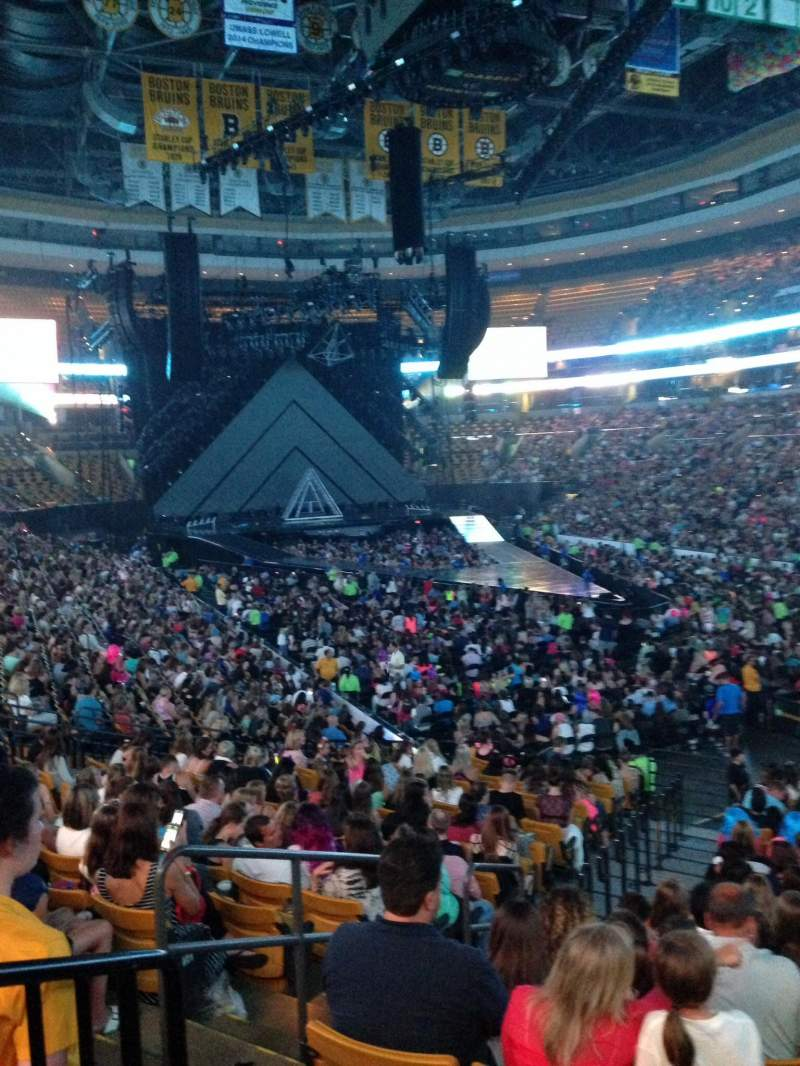 Td Garden Section Loge 8 Row 19 Seat 21 Katy Perry Tour . Td Bank ...