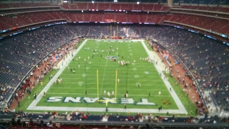 NRG Stadium, vak: 647, rij: A, stoel: 19