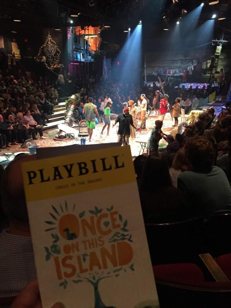 Circle in the Square Theatre, vak: ORCH, rij: F, stoel: 120