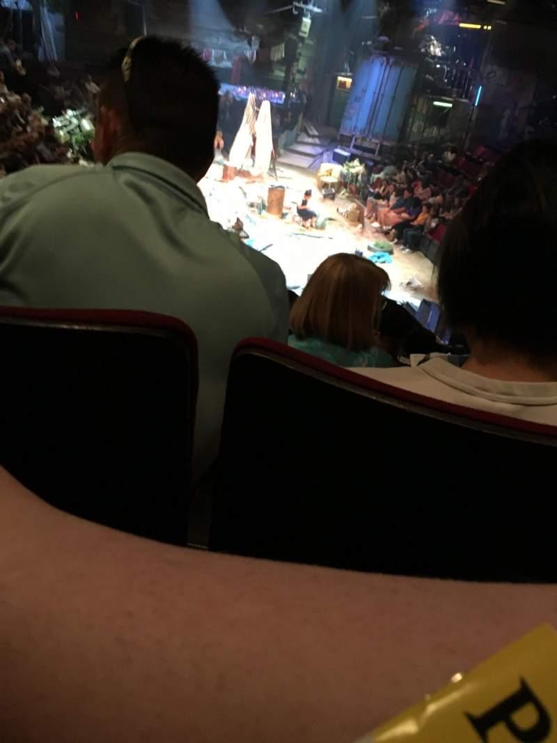 Circle in the Square Theatre, vak: ORCH, rij: K, stoel: 107