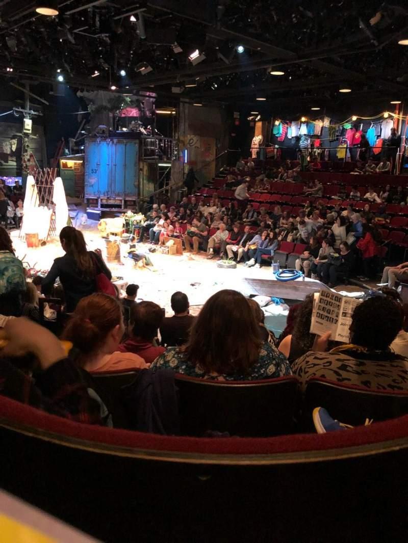 Circle in the Square Theatre, vak: Orch, rij: G, stoel: 131