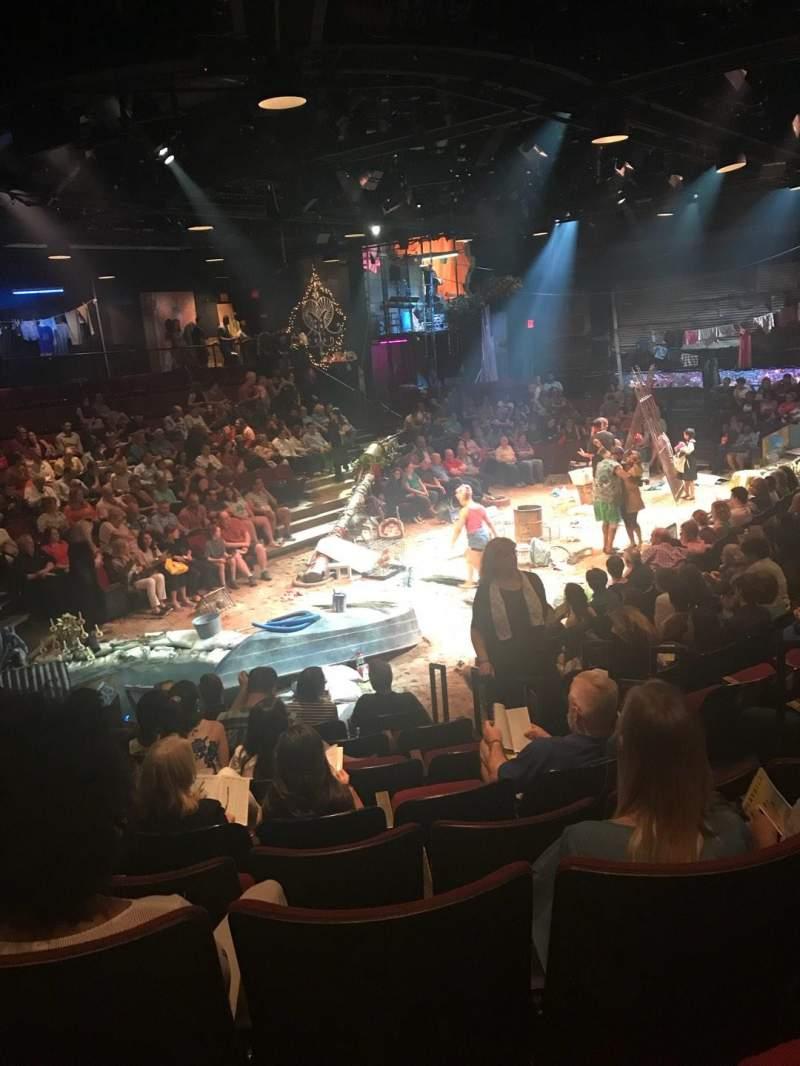 Circle in the Square Theatre, vak: ORCH, rij: H, stoel: 132