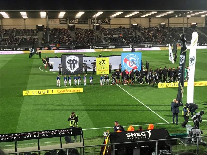 Uitzicht voor Stade Raymond Kopa Vak Jean Bouin Rij N Stoel 1
